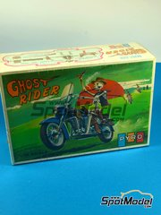 SpotModel: Model bike kit 1/16 scale - PYRO - Ghost Rider
