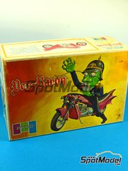 SpotModel: Model bike kit 1/16 scale - PYRO - Der-Baron und his Harley Davidson