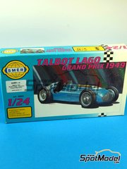 SpotModel: Model car kit 1/24 scale - SMER - Talbot Lago