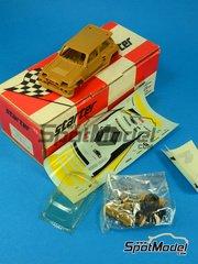 SpotModel: Model car kit 1/43 scale - Starter - Renault 5 Maxi Turbo ELF #5 - Costa Brava Rally image