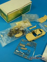 SpotModel: Model car kit 1/43 scale - Renaissance Models - Porsche 911 Carrera 2 Keller #79 - 24 Hours Le Mans 1993 image