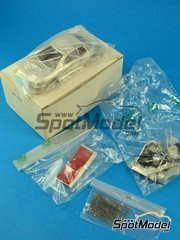 SpotModel: Model car kit 1/43 scale - Racing43 - Mitsubishi Lancer Evo III