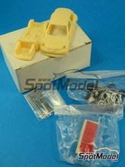 SpotModel: Model car kit 1/43 scale - Racing43 - Renaul Clio