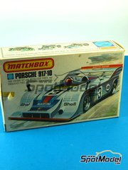 SpotModel: Model car kit 1/43 scale - Matchbox - Porsche 917-10 Martini Racing #3 - Can-Am