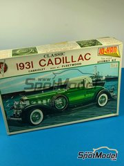 SpotModel: Model car kit 1/24 scale - Jo-Han - Cadillac Fleetwood 1931