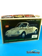 SpotModel: Model car kit 1/24 scale - IMAI - Volkswagen Bettle cabrio image