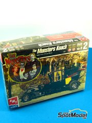 SpotModel: Model car kit 1/25 scale - AMT ERTL - The Munsters Koach