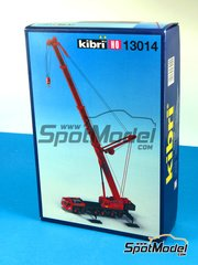 SpotModel: Model kit - Kibri 13014 H0 Demag HC 665 with Superlift-equipment image