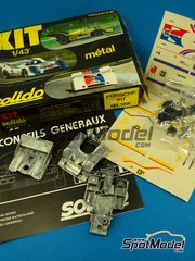 SpotModel: Model car kit 1/43 scale - Solido - Porsche 917