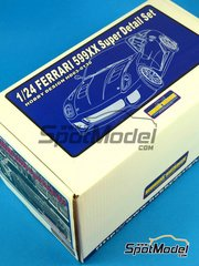 SpotModel: Model kit 1/24 scale - Hobby Design - Ferrari 599XX image