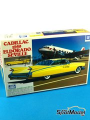 SpotModel: Model car kit 1/32 scale - Mr Hobby - Cadillac Eldorado Seville 1959 image