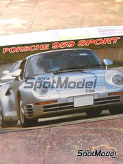 SpotModel: Model car kit 1/16 scale - Fujimi - Porsche 959