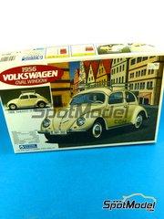 SpotModel: Model car kit 1/24 scale - Gunze Sangyo - Volkswagen Beetle Oval Window 1966 image