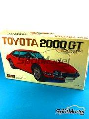 SpotModel: Model car kit 1/20 scale - Nagano Plastic Model - Toyota 2000GT image