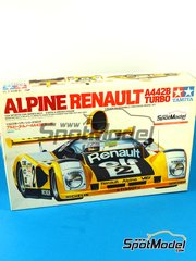 SpotModel: Model car kit 1/24 scale - Tamiya - Alpine Renault A442B Turbo