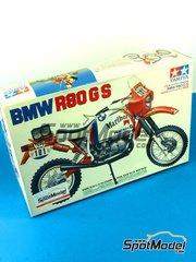 Tamiya: Model bike kit 1/12 scale - Tamiya - BMW R80GS image
