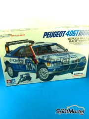 SpotModel: Model car kit 1/24 scale - Tamiya - Peugeot 405T 16GR Pioneer #204