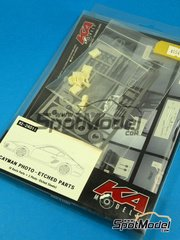 SpotModel: Photo-etched parts 1/24 scale - KA Models - Porsche Cayman - KMKE24011 - resin and photo-etched parts - for Fujimi kit