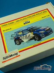 SpotModel: Model car kit 1/24 scale - Reji Models - Skoda Fabia S2000 #66