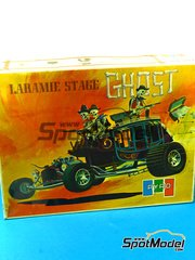 SpotModel: Model car kit 1/16 scale - Pyro - Laramie Stage Ghost