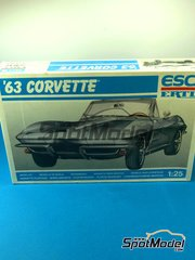 ESCI: Model car kit 1/25 scale - Esci - Corvette 1963