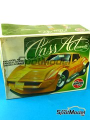 SpotModel: Model car kit 1/20 scale - Airfix - Corvette