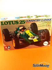 Tamiya: Model car kit 1/24 scale - Tamiya - Lotus 25 Coventry Climax - plastic model kit