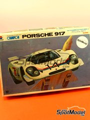 SpotModel: Model car kit 1/32 scale - Nitto Kagaku - Porsche 917 - plastic model kit