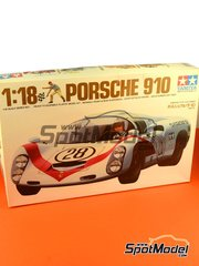 Tamiya: Model car kit 1/18 scale - Tamiya - Porsche 910 image