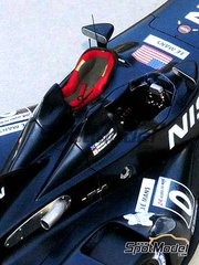 SpotModel: Transkit 1/24 scale - Nissan Delta Wing Isofix and GP chair - action figure NOT included
