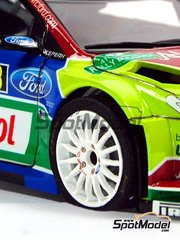 SpotModel: Upgrade 1/24 scale - Flat Tyre for WRC