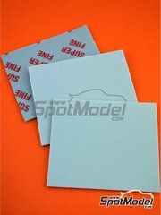 SpotModel: Lijas - Esponja de lija - Grano super fino (600) - 3 unidades