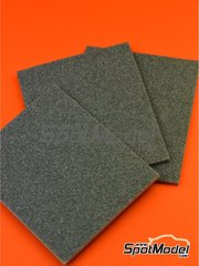 SpotModel: Sandpaper - Medium sand sponge - 3 units