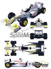 SPECIAL OFFER - Kit 1/20 by Studio27 - Brawn GP Mercedes BGP001 Virgin Mapfre Itaipava - N� 22 - J. Button - Japanese Grand Prix 2009