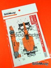 Studio27: Model kit 1/25 scale - McLaren Mercedes MP4/13