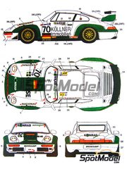 Studio27: Marking 1/24 scale - Porsche 911 GT2 Konrad #70 - Nick Ham (US) + Larry Schumacher (US) + Franz Konrad (AT) - 24 Hours Le Mans 1998