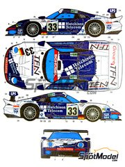 studio27 all products in decals gt cars 24 hours le mans spotmodel. Black Bedroom Furniture Sets. Home Design Ideas
