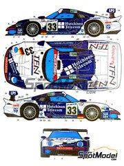 Studio27: Marking / livery 1/24 scale - Porsche 911 GT1
