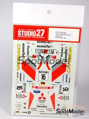 Studio27: Model kit 1/24 scale - Mitsubishi Carisma GT Lancer Evo V