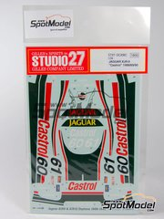 Studio27: Marking 1/24 scale - Jaguar XJR9 XJR12