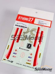 Studio27: Marking / livery 1/25 scale - Porsche 935 Turbo