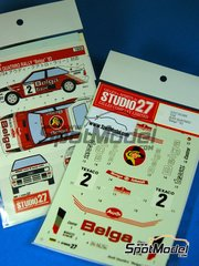 Studio27: Model kit 1/25 scale - Audi Quattro