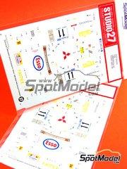 Studio27: Decals 1/24 scale - Mitsubishi Lancer Evo IV Ultron Esso - Paganoni + Stagni - Giro de Italia Rally 1999