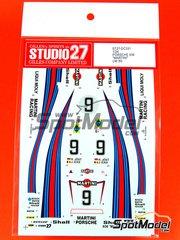 Studio27: Marking / livery 1/25 scale - Porsche 936 1980