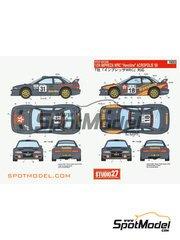 Studio27: Decals 1/24 scale - Subaru Impreza WRC Havoline Texaco team - Ioannis Papadimitriou (GR) + Nikolaos  Petropoulos (GR) - Acropolis rally 2000
