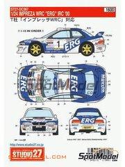 Studio27: Model kit 1/25 scale - Subaru Impreza WRC