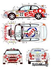 Studio27: Model kit 1/25 scale - Toyota Corolla WRC