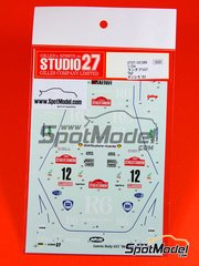 Studio27: Model kit 1/25 scale - Lancia Rally 037
