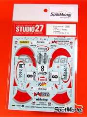 Studio27: Decals 1/24 scale - Subaru Impreza WRX Infineon - Achim Mörtl (AT) + Stefan Eichhorner (AT) - ADAC Deutschland Rally 2001
