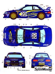 Studio27: Model kit 1/25 scale - Subaru Impreza WRC